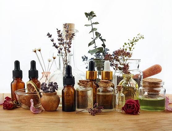 Massage du corps aromathérapeutique